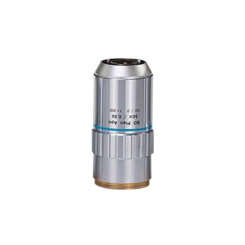 Mitutoyo BD Plan Apo 50x Objective for MF-U Measuring Microscopes (Brightfield / Darkfield)
