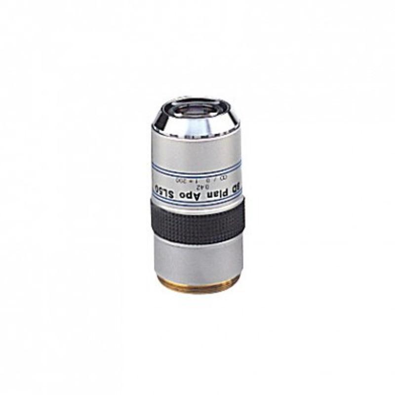 Mitutoyo BD Plan Apo SL 50x Objective for MF-U Measuring Microscopes (Brightfield / Darkfield)