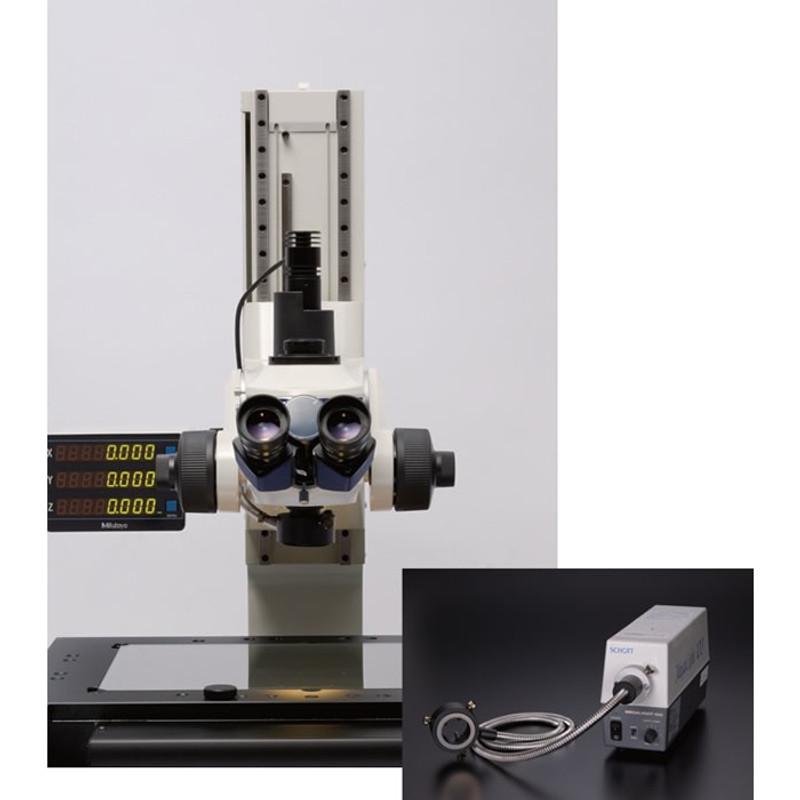 Mitutoyo Ring Fiber-Optics illuminator for MF Measuring Microscopes