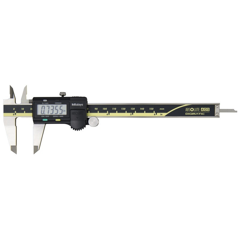 """Mitutoyo 500-171-30 AOS Absolute Digimatic Caliper, Precision Measuring Tool, 6""""/150mm, with Output"""