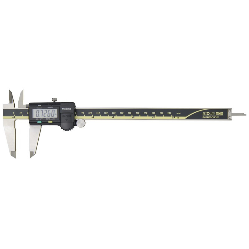 """Mitutoyo 500-172-30 AOS Absolute Digimatic Caliper, Precision Measuring Tool, 8""""/200mm, with Output"""