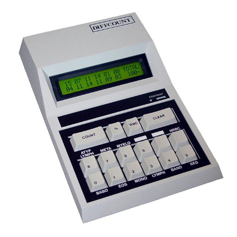 COMP-U-DIFF 12 Channel Differential Digital Cell Counter - Computer/LIS Workstation