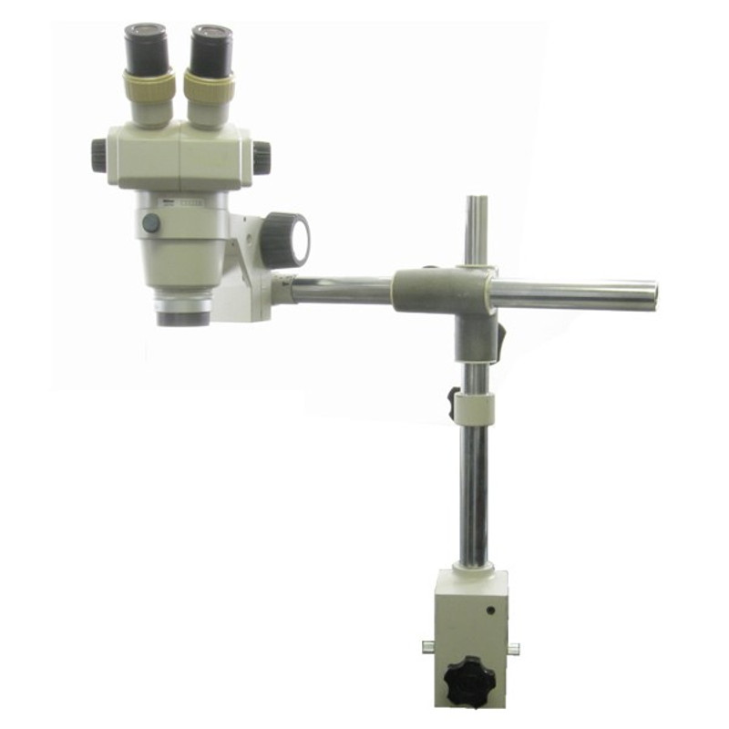 Nikon SMZ-1 Microscope on Table Clamp Stand - Reconditioned