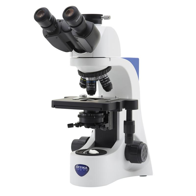 OPTIKA B-383PL Trinocular Microscope, N-Plan Objectives