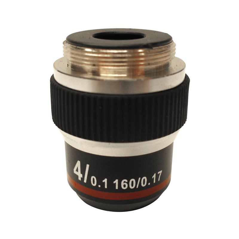 OPTIKA M-137 4x/0.10 High Contrast Objective