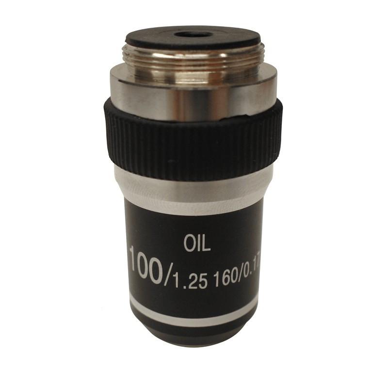 OPTIKA M-143 100x/1.25 Oil High Contrast Objective
