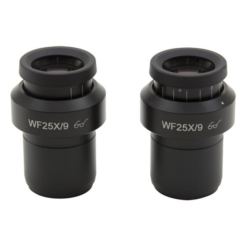 OPTIKA ST-144 Wide Field 25x/9mm Eyepieces (Pair)