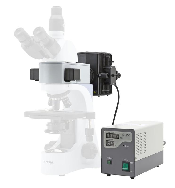 OPTIKA Mercury Epi-Fluorescence Attachment For B-380 Series