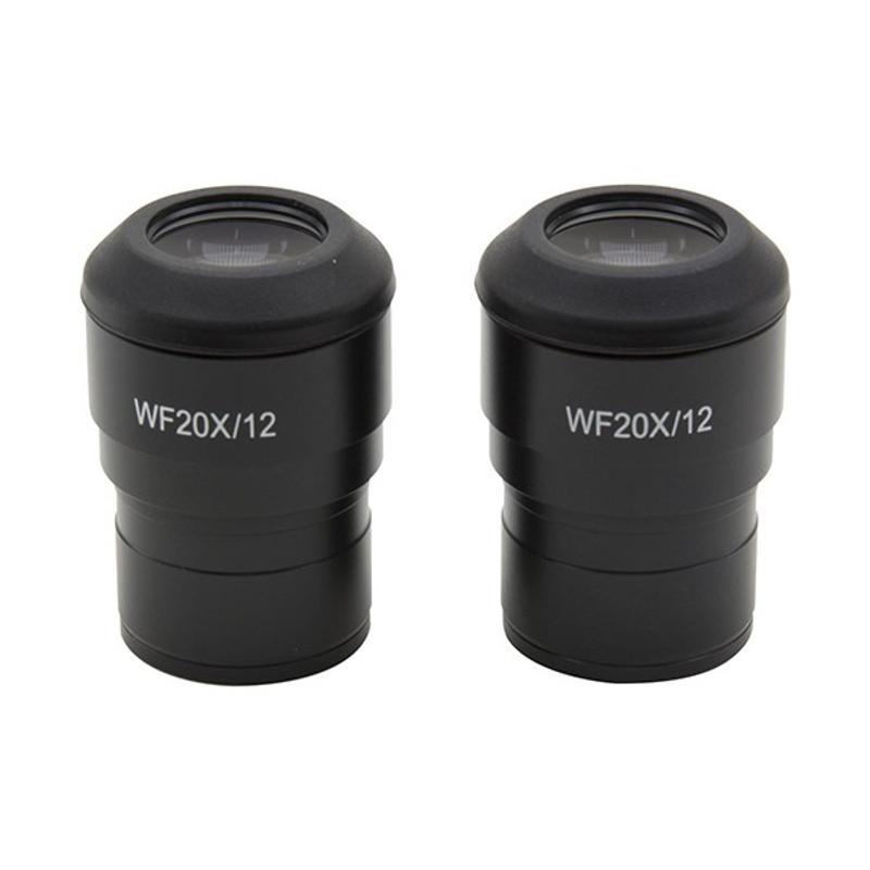 OPTIKA ST-162 Wide Field 20x/12mm Eyepieces (Pair)