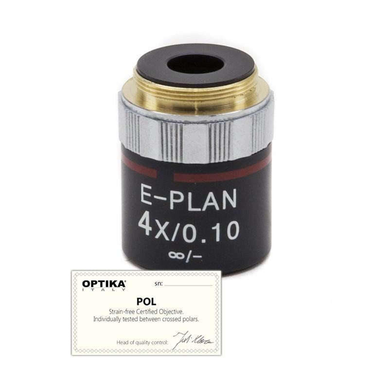 OPTIKA M-144P 4x/0.10 IOS N-PLAN POL Objective