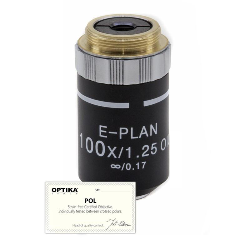 OPTIKA M-148P 100x/1.25 IOS N-PLAN POL Oil Objective