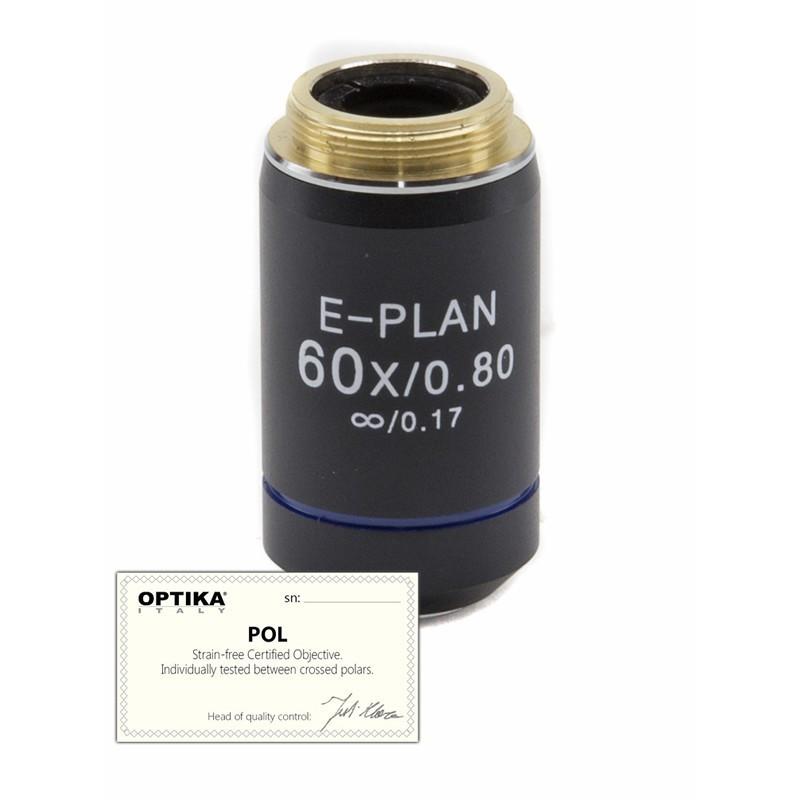 OPTIKA M-149P 60x/0.80 IOS N-PLAN POL Objective