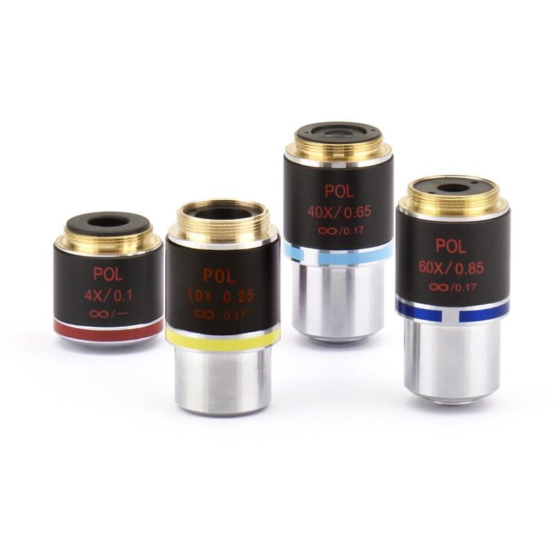 OPTIKA M-1083 60x IOS W-PLAN POL Objective