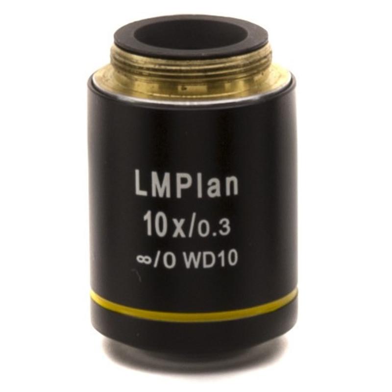 OPTIKA M-1101 10x IOS LWD U-PLAN MET Objective For Brightfield
