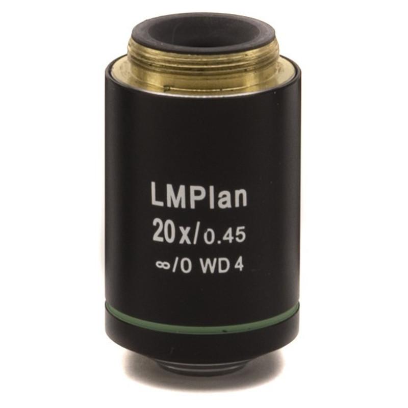 OPTIKA M-1102 20x IOS LWD U-PLAN MET Objective For Brightfield