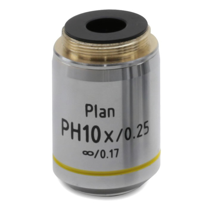 OPTIKA M-1120.N 10x IOS W-PLAN PH Objective For Phase Contrast