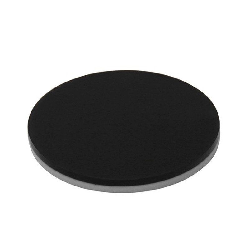 OPTIKA ST-042 White & Black Stage Plate, 100mm Diameter