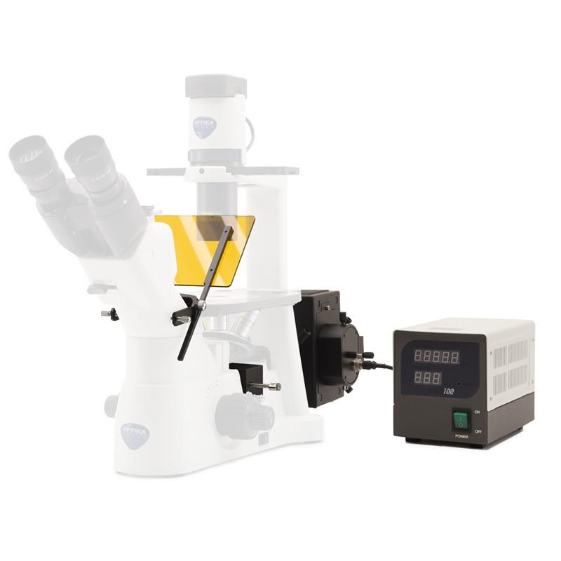 OPTIKA M-797-UK Fluorescence Attachment for IM-3 - 2 Position Filter Holder, UK Plug