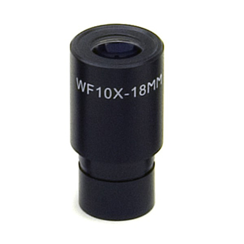 OPTIKA M-008 10x/18mm Wide Field Eyepiece with Pointer, High Eyepoint