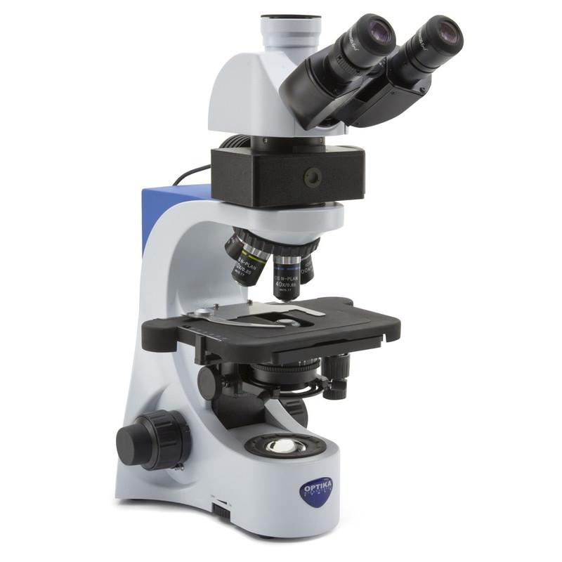 OPTIKA B-383LD Trinocular LED Fluorescence Microscope