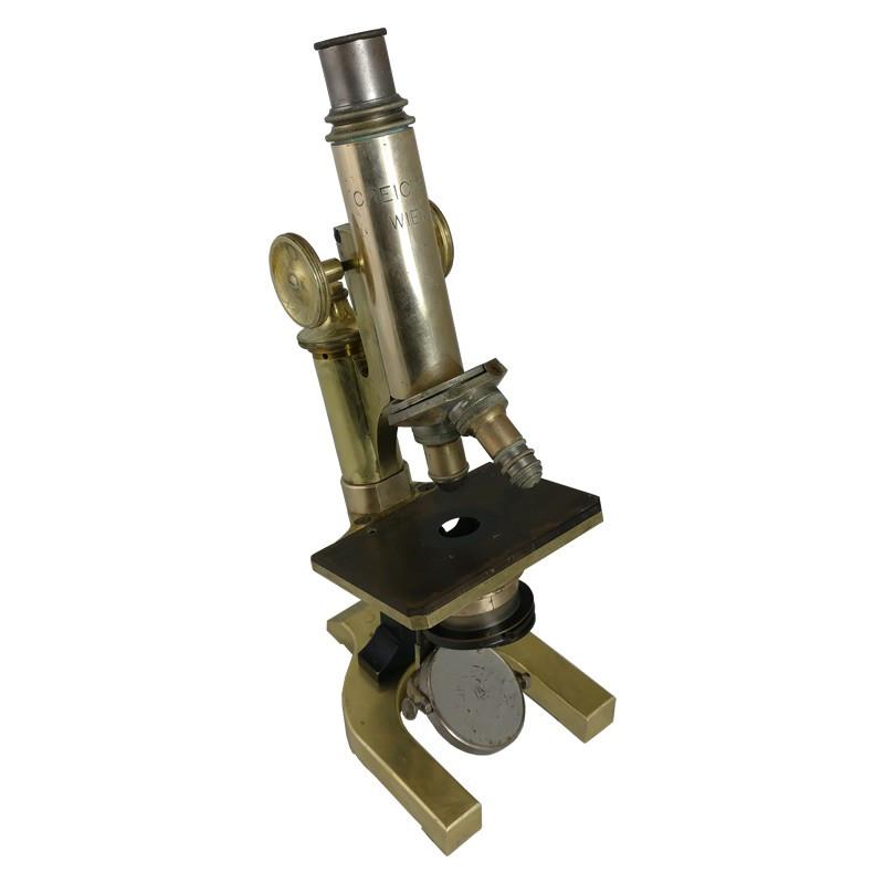 C. Reichert Wien Microscope No. 20802, Antique