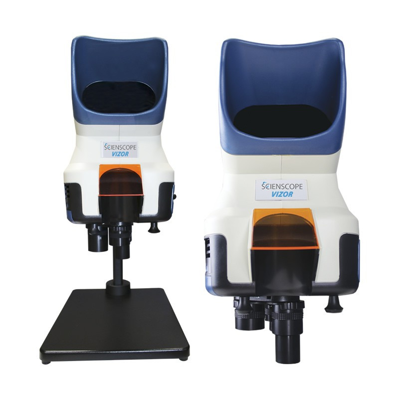 Scienscope Vizor-TS Visual Inspection System on Bench Top Stand