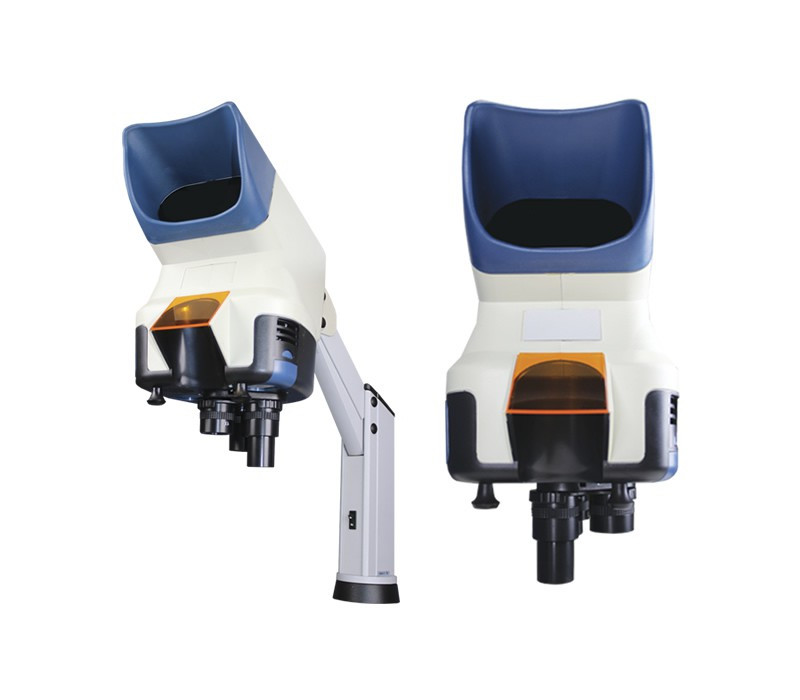 Scienscope Vizor-A Visual Inspection System on Articulating Arm Stand