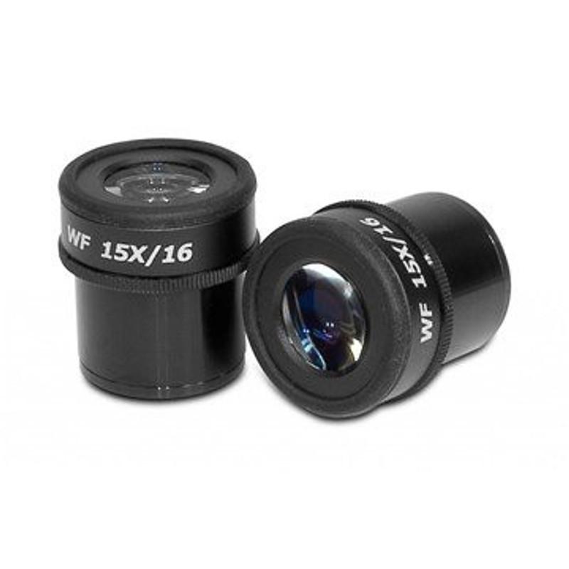 Scienscope NZ/ELZ-LE-W15 15x Focusable Eyepieces for NZ and ELZ Series (pair)