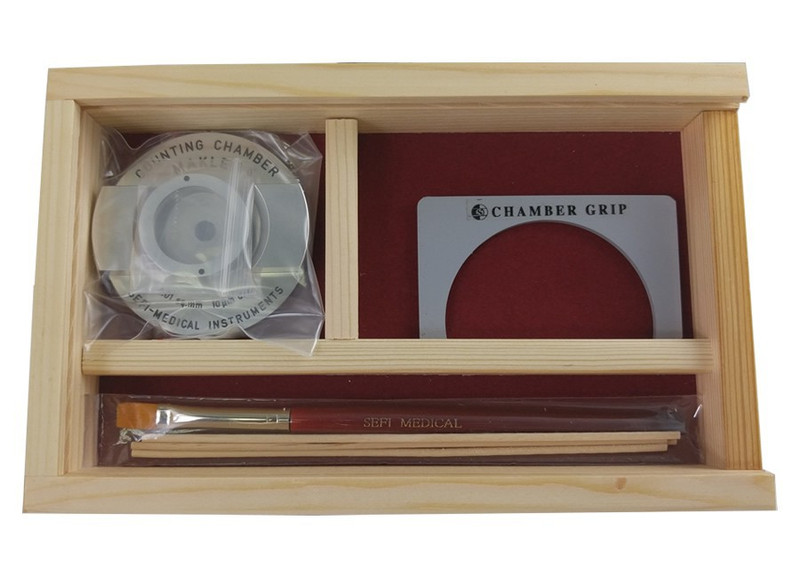 Makler Counting Chamber with Gridless Cover Glass