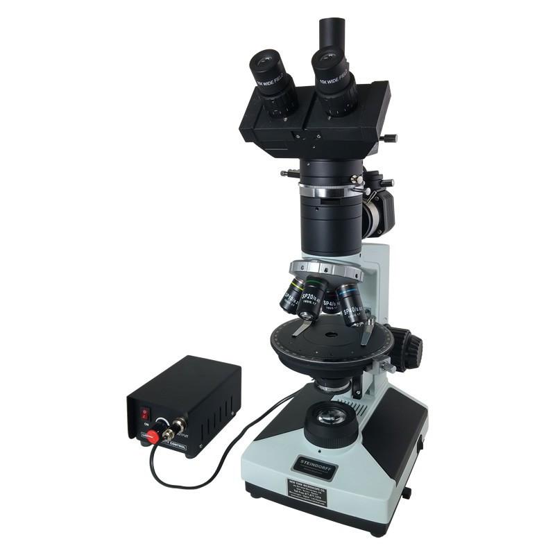 Steindorff NYMCS-62B00 Trinocular Ore Polarizing Digital/Video Microscope