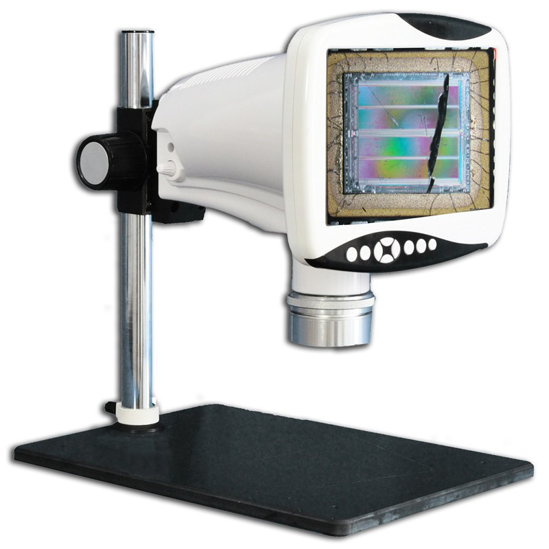 """Steindorff NYMCS-342 Digital Stereo Measuring Microscope with 9"""" HD LCD Screen, 5 Megapixel, 9x - 80x Magnification Range"""