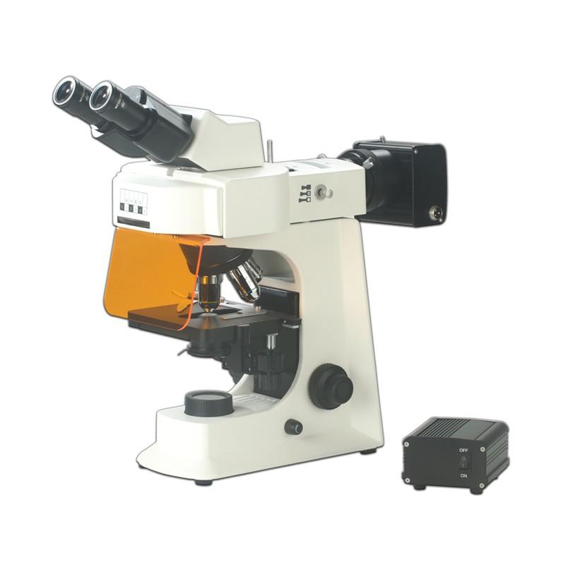 Steindorff NYMCS-263 Biological Binocular Fluorescence Microscope With LED Illumination and Infinite Optical System