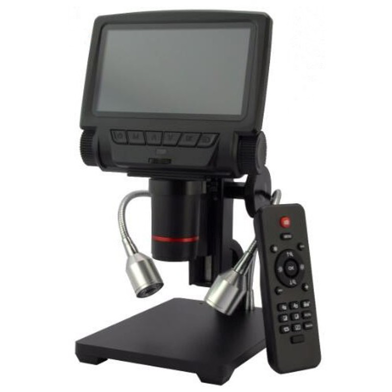 """Steindorff HDMI HD Digital Video Microscope with 5"""" LCD Display & Measuring Functionality"""