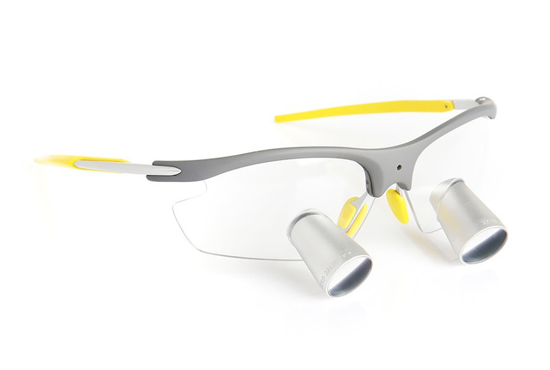 Surgical Eye Loupes 2.5x Fusion TTL - Sports Frame