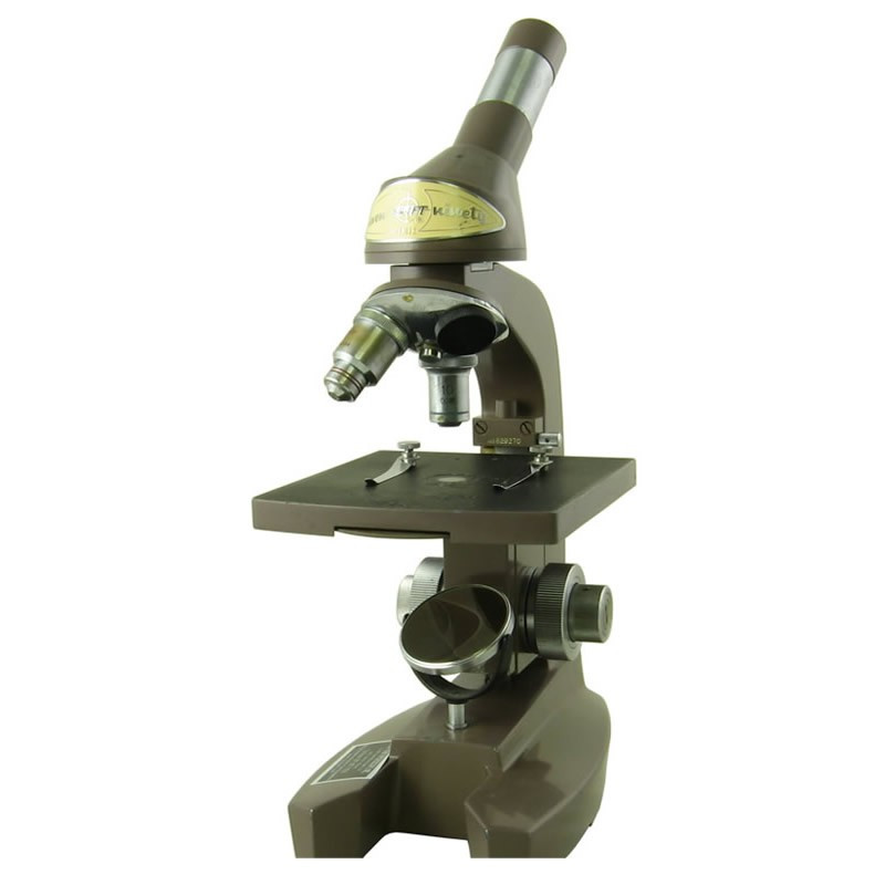 Swift Eleven Ninety Monocular Microscope, Two Objectives, Mirror, Reconditioned