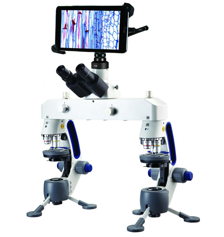 """Swift M3-F-BTW1 Forensic Comparison Microscope With Integrated 8"""" Tablet - 5.0 Megapixels"""