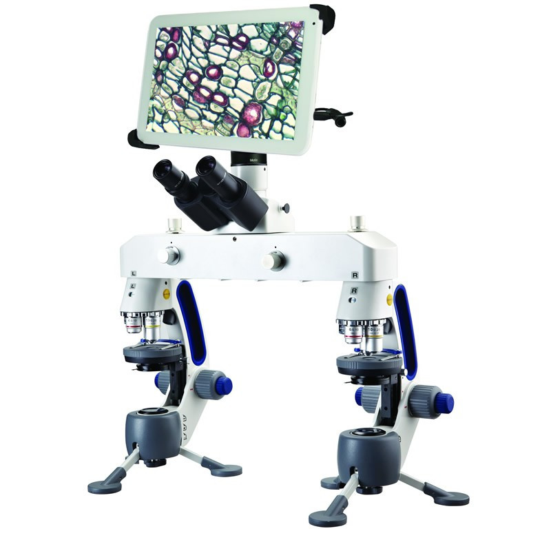 """Swift M3-F-BTW2 Forensic Comparison Microscope With Integrated 10"""" Tablet - 5.0 Mega Pixels"""
