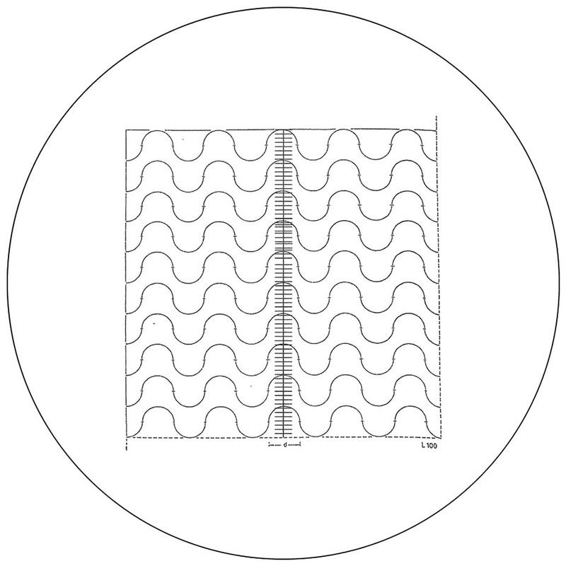 Merz Wavy Line with Scale