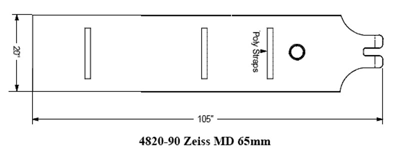 Surgical Drapes for Zeiss MD/CS/11 Microscopes