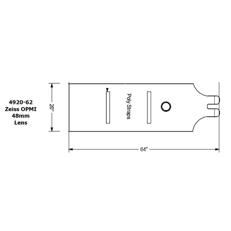 Surgical Drapes for Zeiss OPMI 1/6/7 Microscopes