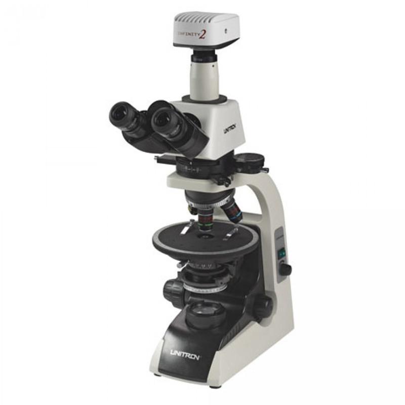UNITRON 12100 Polarizing Digital Microscope Package
