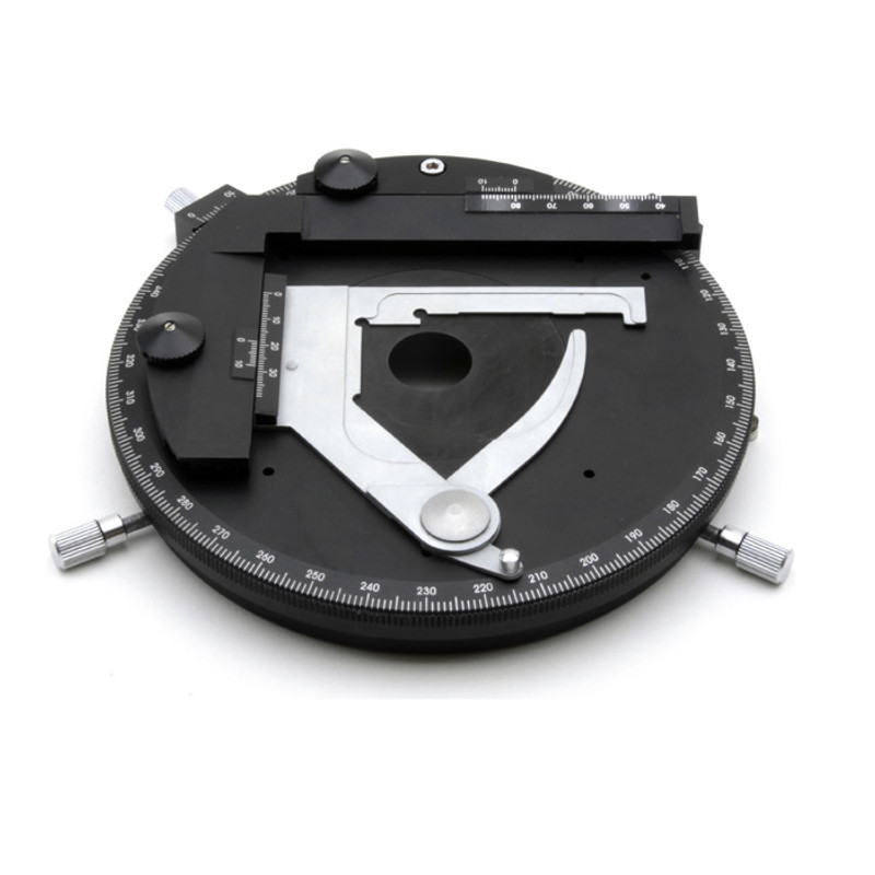 OPTIKA M-1145 Rotating stage with Attachable Mechanical Stage