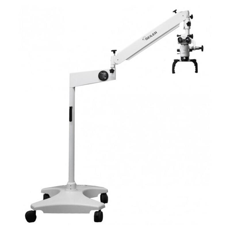 Seiler Alpha Air Dental Surgical Microscope, Floor Stand