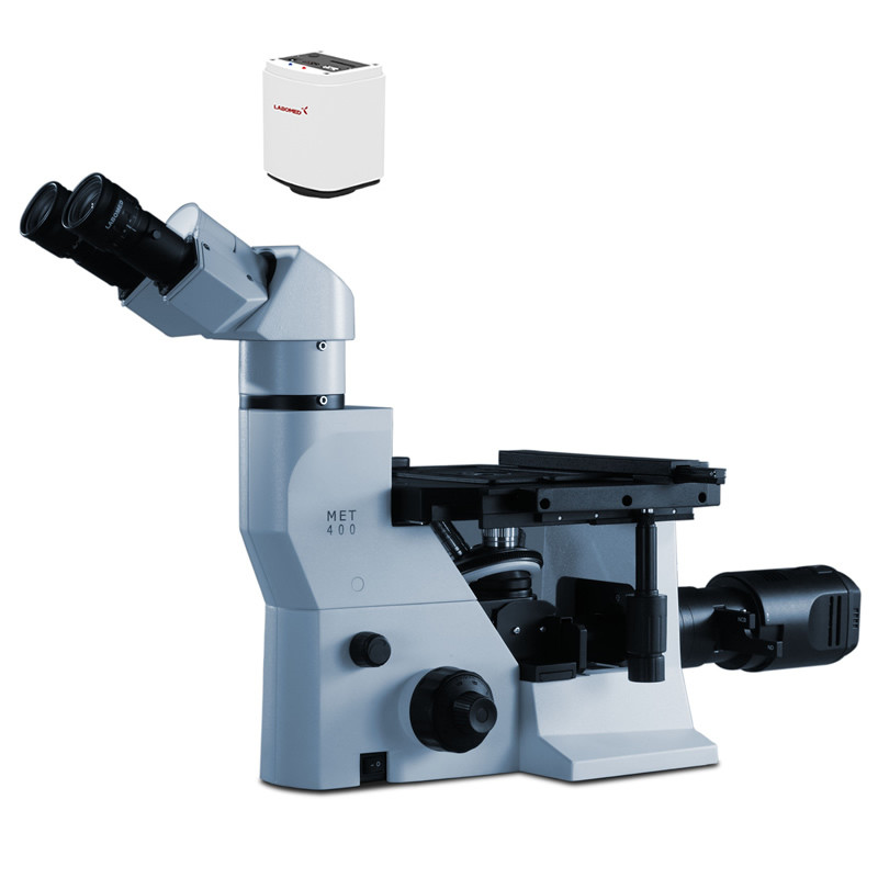 Labomed MET 400 Inverted Metallurgical Digital Microscope Package