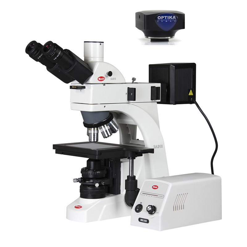 Metallurgical Digital Microscope Package, Incident & Transmitted Illumination