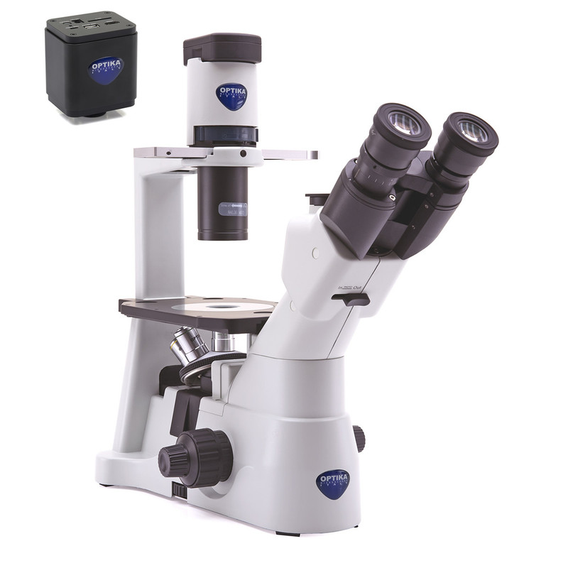 OPTIKA IM-3 Digital Inverted Phase Microscope Package