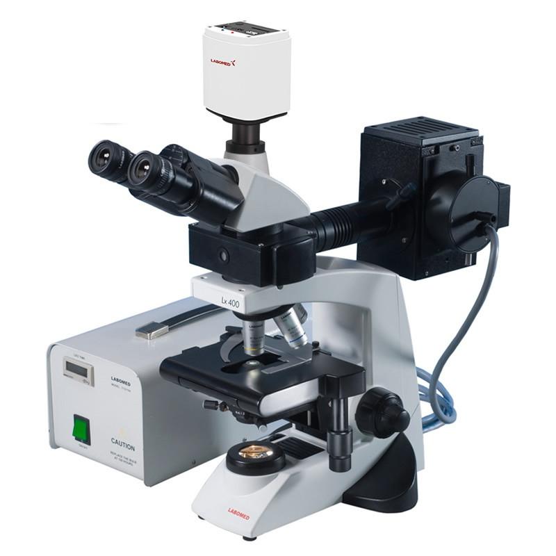 Labomed Lx400 Fluorescence Digital Microscope Package