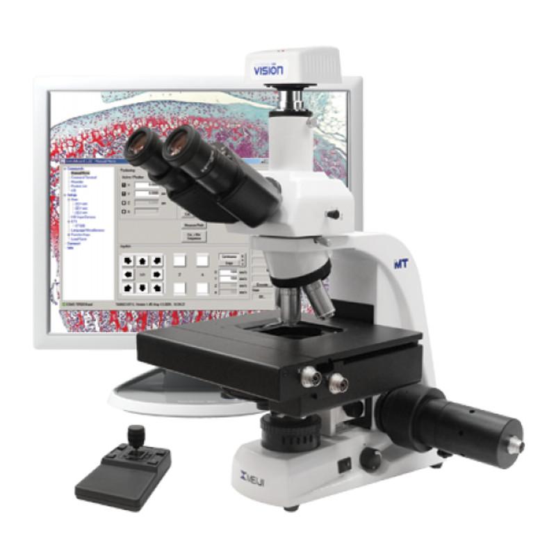 Meiji MT5300LM Trinocular Digital Motorized Microscope
