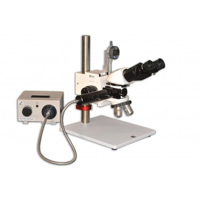 Meiji MC-65 Binocular Reflected Light Toolmakers/Measuring Microscope (Z-Axis), Brightfield, Darkfield & Simple Polarization