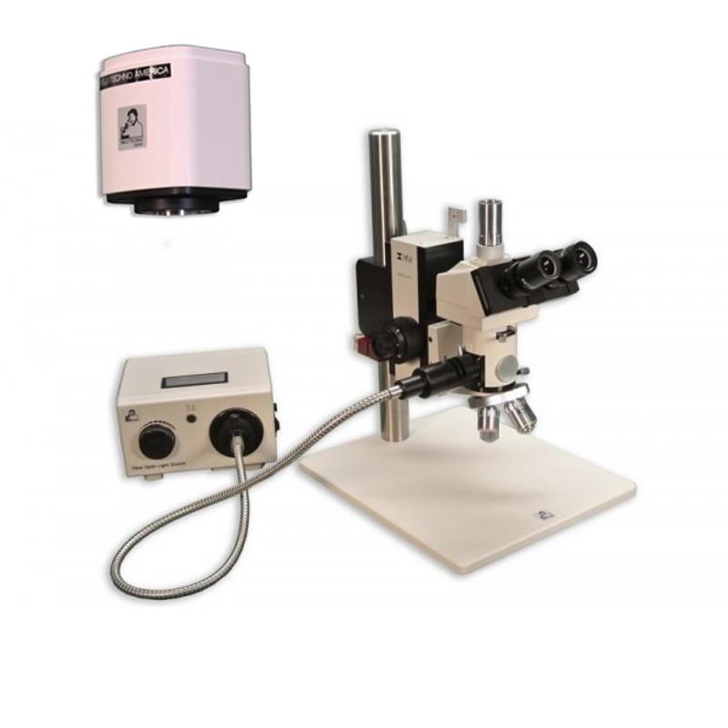 Meiji MC-55 Reflected Light Toolmakers/Measuring Digital Microscope Package